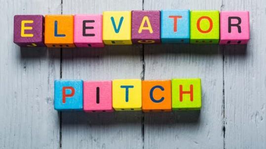 Elevator pitch discurso del presentación
